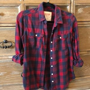 Mossimo flannel Button Up